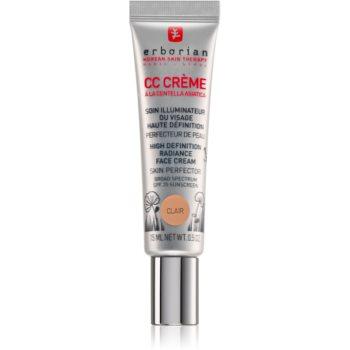Erborian CC Crème Centella Asiatica Crema radianta pentru o piele uniformă ton SPF 25 pachet mic