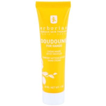 Erborian Yuza Doudoune schützende Handcreme für sanfte und weiche Haut
