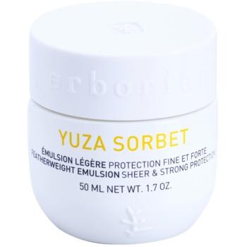 Erborian Yuza Sorbet лека емулсия със защитен ефект против действието на външните фактори