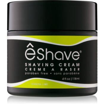 eShave Verbena Lime crema de barbierit