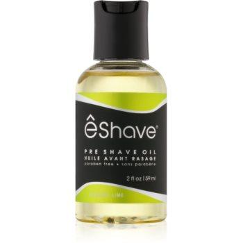 eShave Verbena Lime ulei înainte de ras