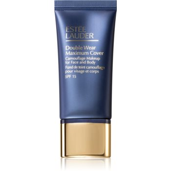 Estée Lauder Double Wear Maximum Cover krycí make-up na obličej a tělo odstín 3W1 Tawny SPF 15 30 ml