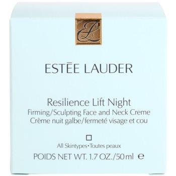 Estée Lauder Resilience Lift noční liftingový krém proti vráskám pro všechny typy pleti 4