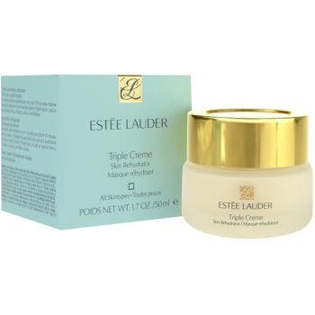 Estée Lauder Triple Creme vlažilna in hranilna maska za vse tipe kože 2