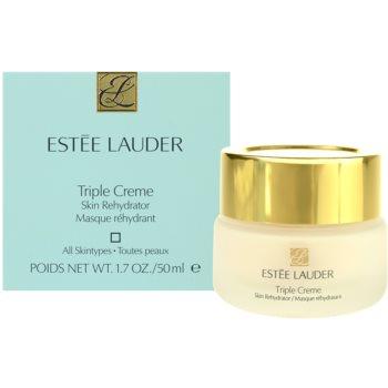 Estée Lauder Triple Creme vlažilna in hranilna maska za vse tipe kože 3