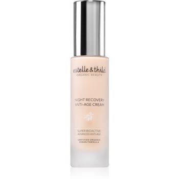 Estelle & Thild Super BioActive Crema de noapte hidratanta anti-rid