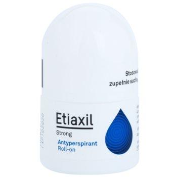 Etiaxil Strong antiperspirant roll – on cu efect de 5 zile impotriva transpiratiei excesive  15 ml