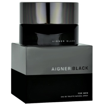 Fotografie Etienne Aigner Black for Man toaletní voda pro muže 125 ml