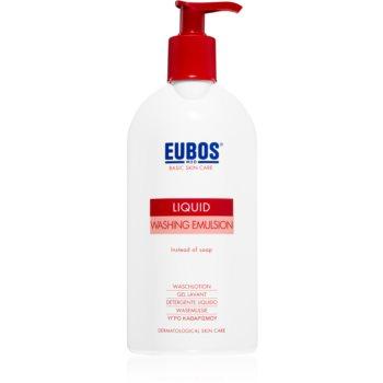 Eubos Basic Skin Care Red emulsie pentru spalare fara parabeni poza