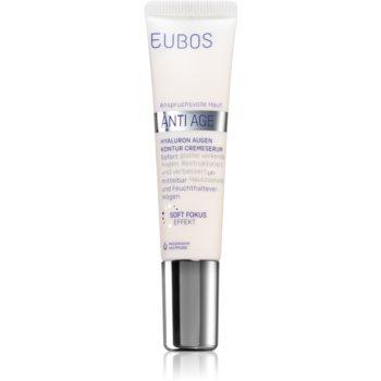 Eubos Hyaluron ser crema zona ochilor imagine produs