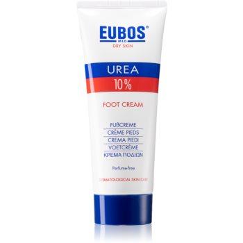 Eubos Dry Skin Urea 10% crema Intensiv Regeneratoare pentru picioare poza noua