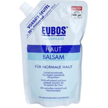 Eubos Basic Skin Care vlažilni balzam za telo za normalno kožo nadomestno polnilo