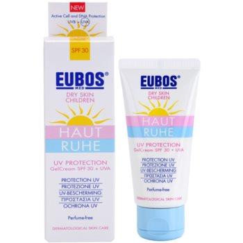 Eubos Children Calm Skin zaščitna gelasta krema SPF 30 1