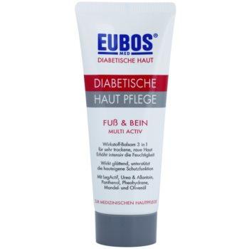 Eubos Diabetic Multi Active hydratačný krém na nohy a chodidlá