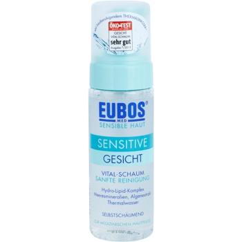 Eubos Sensitive spuma de curatat pentru a calma si intari pielea sensibila