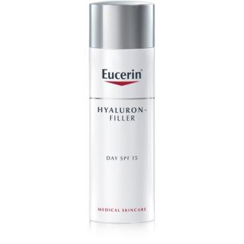 Eucerin Hyaluron-Filler crema de zi pentru contur pentru piele normala si mixta