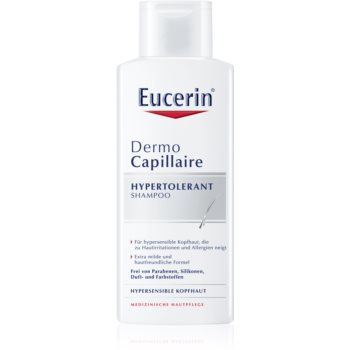 Fotografie Eucerin Hypertolerantní šampon pro podrážděnou a alergickou pokožku DermoCapillaire 250 ml