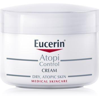 Eucerin AtopiControl crema pentru piele uscata, actionand impotriva senzatiei de mancarime poza
