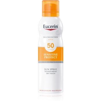 Eucerin Sun Sensitive Protect loțiune transparentă SPF 50