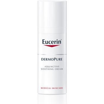 Eucerin DermoPure cremă calmantă pentru tratamentul acneei
