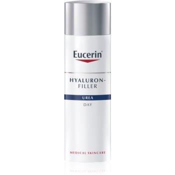 Eucerin Hyaluron-Filler Urea crema de zi pentru contur pentru piele foarte uscata