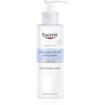 Eucerin DermatoClean lapte pentru curatare pentru tenul uscat