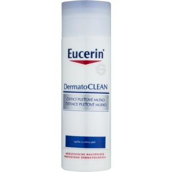 Eucerin DermatoClean lapte de curatare pentru ten uscat si sensibil
