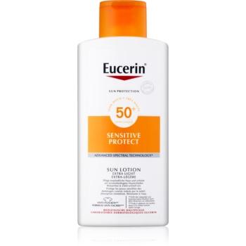 eucerin sun sensitive protect lotiune solara light spf50+