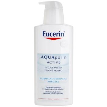 Fotografie Eucerin Aquaporin Active tělové mléko pro normální pokožku 400 ml