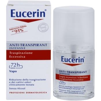 Eucerin Deo spray anti-perspirant impotriva transpiratiei excesive 2