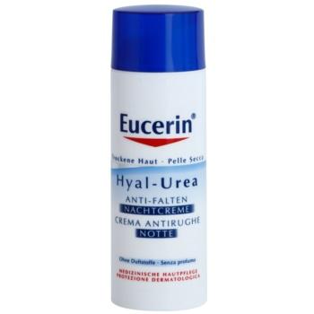 Eucerin Hyal-Urea crema de noapte pentru contur pentru piele uscata spre atopica