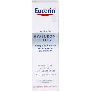 Eucerin Hyaluron-Filler crema de ochi efect intens anti-rid 1