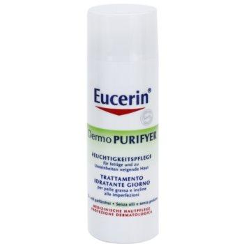 Eucerin Dermo Purifyer матуючий крем для проблемної шкіри