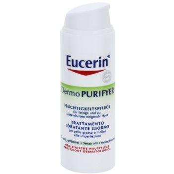 Eucerin Dermo Purifyer creme matificante para pele problemática, acne 1