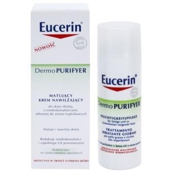 Eucerin Dermo Purifyer creme matificante para pele problemática, acne 2