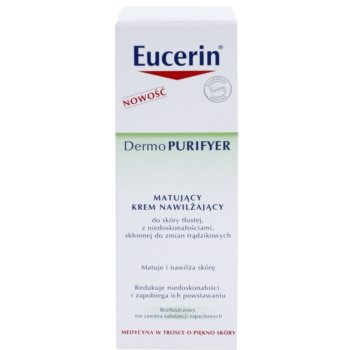 Eucerin Dermo Purifyer creme matificante para pele problemática, acne 3
