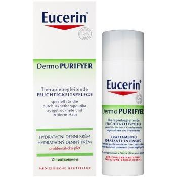 Eucerin Dermo Purifyer denní hydratační krém pro problematickou pleť, akné 2