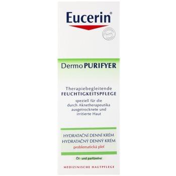 Eucerin Dermo Purifyer denní hydratační krém pro problematickou pleť, akné 3
