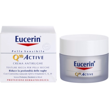 Eucerin Q10 Active розгладжуючий крем проти зморшок 1