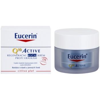 Eucerin Q10 Active regeneráló éjszakai krém a ráncok ellen 1