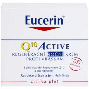 Eucerin Q10 Active regeneráló éjszakai krém a ráncok ellen 2