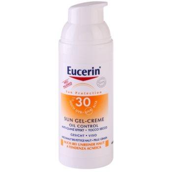 Eucerin Sun ochranný krémový gel na obličej SPF 30 1