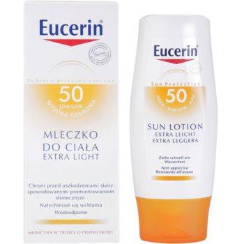 Eucerin Sun Protetor solar extra leve para o corpo SPF 30 1