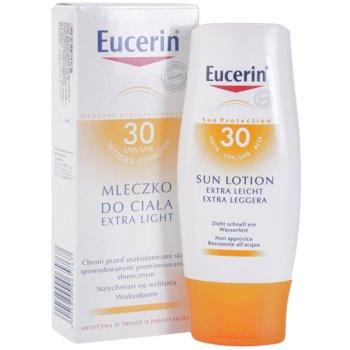Eucerin Sun Protetor solar extra leve para o corpo SPF 30 2