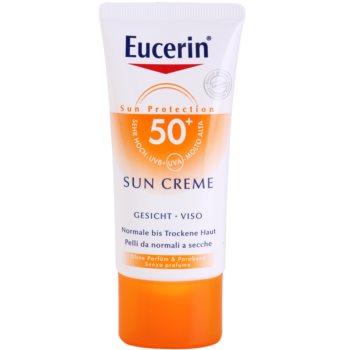 Eucerin Sun crema protectoare pentru fata SPF 50+