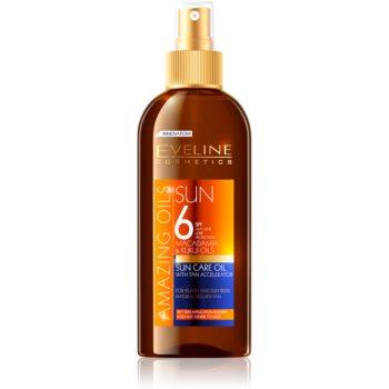 Eveline Cosmetics Sun Care olej na opalování ve spreji SPF 6 150 ml
