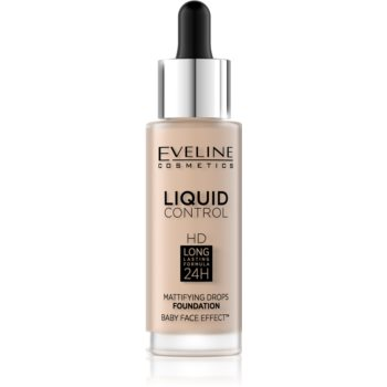 Eveline Cosmetics Liquid Control fond de ten lichid pipeta