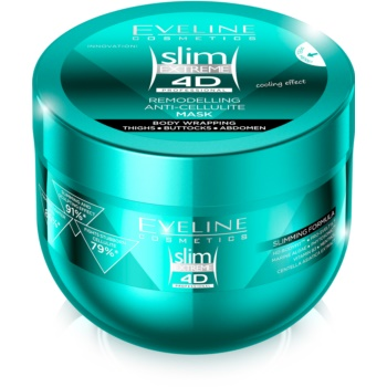 Eveline Cosmetics Slim Extreme mască de corp anticelulită cu efect racoritor
