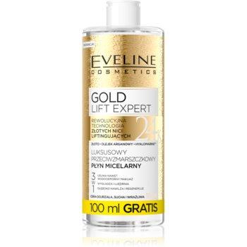 Eveline Cosmetics Gold Lift Expert apa pentru curatare cu particule micele pentru ten matur imagine produs
