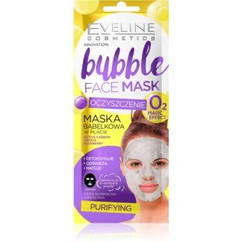Eveline Cosmetics Bubble Mask mască cu efect de curățare